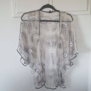 Topshop embellished top . US 6